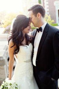 wedding hair - long flowing curls