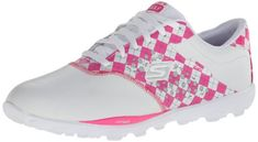 Skechers Women's Go Golf Walking Shoe,White/Pink,5 M US Skechers,http://www.amazon.com/dp/B00E9CGALS/ref=cm_sw_r_pi_dp_zRnktb0R1B1DS5QS