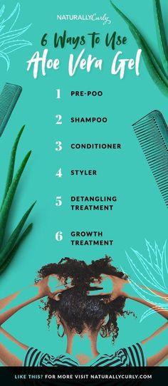 6 Ways to Use Aloe Vera Gel for Hair