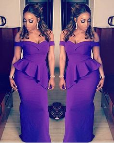 in for Makeup by Nigerian Wedding Dress, Nigerian Dress, African Wedding Dress, Wedding Dress Styles, African Fashion Dresses, African Dress, Black Bridesmaids Hairstyles, Black Tie Wedding Guest Dress, Dinner Gowns