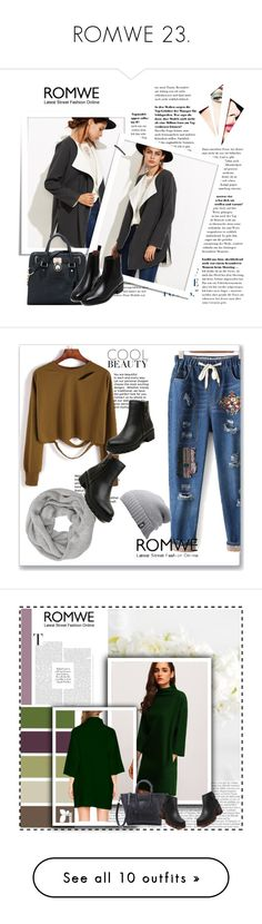"""ROMWE 23."" by igor89 ❤ liked on Polyvore featuring romwe, Mixit, Agave, vintage, John-Richard, Pottery Barn and H&M"