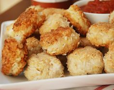 """Coconut Chicken Nuggets with Paleo """"BBQ"""" Sauce from Multiply Delicious"""