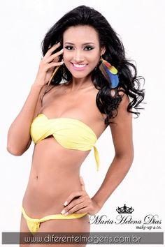Ensaio com Miss Bahia Latina 2016 a linda Leilla Araújo Beleza by Maria Helena Dias