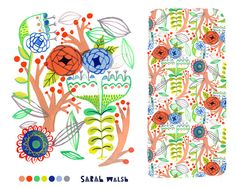 Spring Flowers  - Sarah Walsh