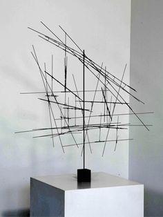 escultura com barra de ferro - Pesquisa Google