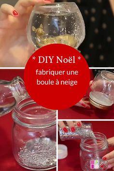 DIY Noël : fabriquer une boule à neige