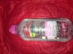 Simones Produkttest: Garnier Mizellen Reinigungswasser