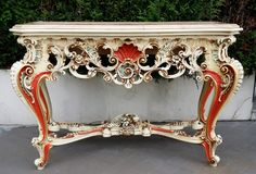 louis xv style console table - Google Search