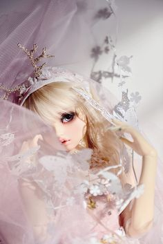 malaryush-dolls:  VOLKS-GRLORINA by FEIRUIER on Flickr.volks, lorina, alice, bjd,