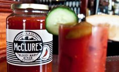 Bloody Mary Mix by McClure's Pickles | McClure's Pickles. Best bloody mary mix I've ever had, hands down.