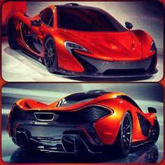 Exceptional McLaren P1