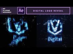 (323) Digital logo reveal in AE | After Effects Tutorial - YouTube