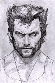 Wolverine - Hugh Jackman by ArtOfIDAN #Wolverine