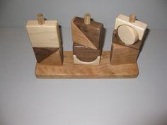 Three post shape puzzle toy $30.00