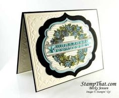 Stampin' Up! Apothecary Art stamp set with Labels Framelit Dies