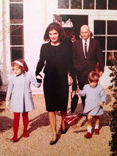 Camelot ends, as Jackie leaves the White House.   She returned only once - to see the official portraits of herself and JFK.   (www.facebook.com/pinkpillbox)