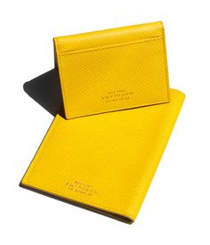Smythson Passport and ID Case / Garance Doré Goods