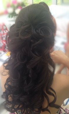 Wedding Hairstyle, Bridal Hairstyle, Special Occasions, Up-dos and down-dos: Hairstyles, Beautiful Short Hair, Medium length Up dos for Weddings and Special Occasions Makeup by Dunia Ghabour Makeup & Hair