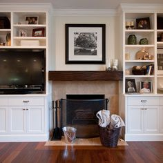Family Room Built In Cabinets Entertainment Center Design, Pictures, Remodel, Decor and Ideas - page 3