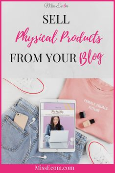 Considering adding a store to your blog to sell physical products such as t-shirts, totes, and mugs. Grab the Free Action Guide to get started and add a shop to your blog or boutique.