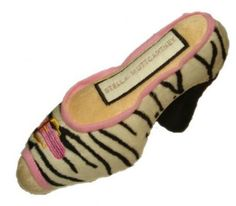 Stella MuttCartney Shoe Dog Toy Large by Dog Diggin Designs -- For more information, visit image link. (This is an affiliate link and I receive a commission for the sales)