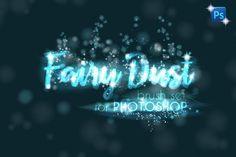 Fairy Dust PHOTOSHOP sparkle brushes by Transfuchsian on @creativemarket Photoshop Cs5, Photoshop Elements, Photoshop Effects, Photoshop Photos, Photoshop Brushes, Photoshop Tutorial, Photoshop Photography, Shops, Fairy Photography
