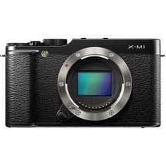 Fujifilm X-M1 Compact System 16MP Digital Camera with 3-Inch LCD Screen - Body Only (Black)