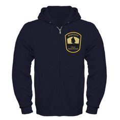 #CafePress Bigfoot Field Researcher Large dark Navy Zip #Hoodie