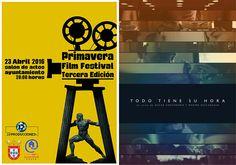 TODO TIENE SU HORA, de Oscar Santamaría y Marine Discazeaux, sigue su buena racha. Esta vez ha sido seleccionado a concurso por el Primavera Film Festival III Edición, que se celebra en Ceuta el próximo día 23. :) #Digital104FilmDistribution