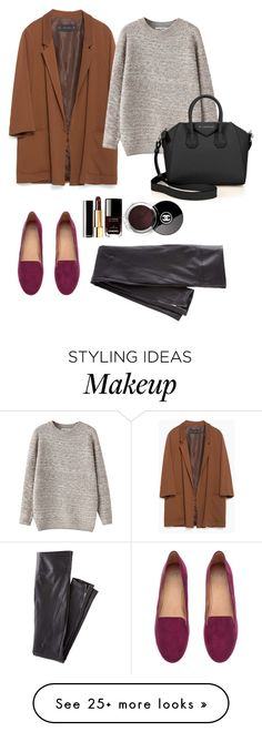 """""""Untitled #15"""" by kyukhno on Polyvore featuring Zara, Chicnova Fashion, H&M, Givenchy and Wrap"""