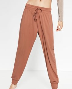 FLOWING BALLET TROUSERS-Ballet collection-GYMWEAR-WOMAN | ZARA United States