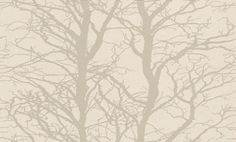 Fioton 2 (430001) - Brewers Wallpapers - An atmospheric wood design, creating a vertical stripe effect.  Shown in the metallic silver on a lightly speckled cream background. Paste the wall. Please request sample for true colour match.