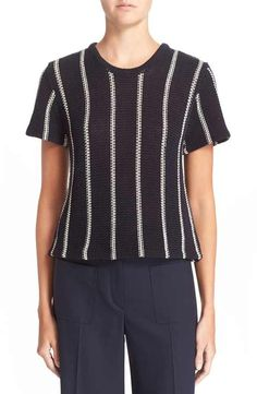 Lengthwise fat striped KNIT needed...