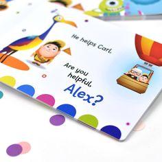 Personalised What Makes Me Great Disney Pixar Board Book