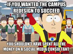 This is HYSTERICAL. Higher Ed marketers, you will LOVE. #highered #heweb
