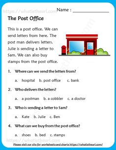 First Grade Reading Comprehension, Phonics Reading, Reading Comprehension Worksheets, Reading Passages, English Writing Skills, English Reading, English Vocabulary Words, English Words, English Worksheets For Kindergarten