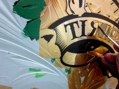 Jameson Whiskey – Ornate Gilded Glass Sign 2013 « David Smith – Traditional Ornamental Glass Artist