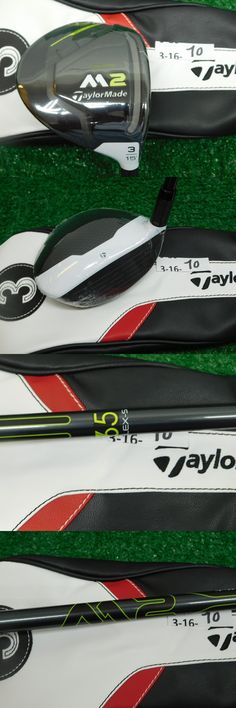 Golf Clubs 115280: Taylormade 2017 M2 15* 3 Wood Reax 65G Stiff Graphite With Headcover New BUY IT NOW ONLY: $199.99