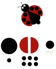 Coccinelle Plus - Photo Summer Crafts For Kids, Spring Crafts, Diy For Kids, Felt Crafts, Diy And Crafts, Arts And Crafts, Paper Crafts, Ladybug Crafts, Ladybug Party