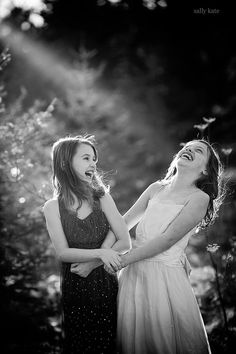 the laughter of friends ...priceless :)     sallykate photography