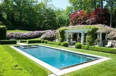 The just right backyard pool.