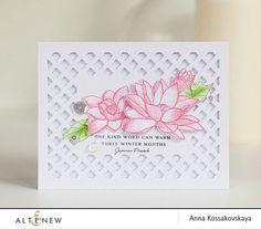 NEW Altenew Stamps - Lotus