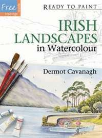 Ready to Paint: Irish Landscapes in Watercolour - Irish Art & Artists - Art & Photography - Books Watercolor Landscape, Watercolor Paper, Best Art Books, Irish Landscape, Jackson's Art, Irish Art, Painted Books, Watercolour Tutorials, Drawing Skills