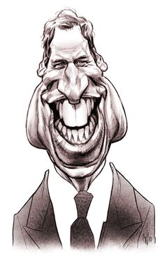 Prince William's caricature printed at Chris Wahl Art Illustration Blog