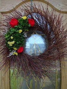 Hydrangea Wreath Mother's Day Gift Twig Wreath Natural Wreath Summer Wreath Wall Decoration Gift Spring and Summer Wreath Purple Wreath, White Wreath, Green Wreath, Floral Wreath, Green Hydrangea, Hydrangea Wreath, Hydrangeas, Indoor Wreath, Mothers Day Wreath