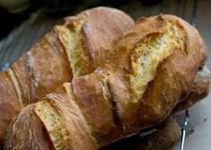 """""""Anya, ez isteni!..."""", avagy Gabojsza konyhája: Svájci gyökérkenyér (Pain Paillasse) Pain, Banana Bread, Desserts, Recipes, Food, Minden, Breads, Tailgate Desserts, Bread Rolls"""
