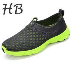 Size 39-44 Mesh Shoes 2016 Spring Summer Fashion Men Casual Shoes Outdoor Breathable Flat Shoe Slip-on Platform Shoes Wholesale