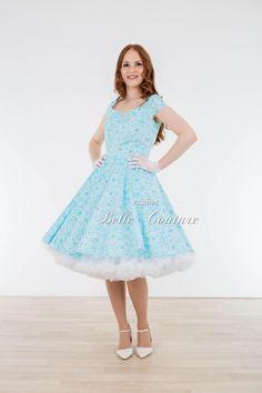 Atelier Belle Couture | romantisches 50er Jahre Petticoat Kleid