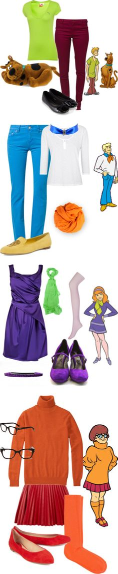 """Scooby Doo Inspiration"" by helsingmusique ❤ liked on Polyvore"