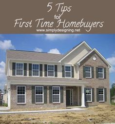 5 Tips for First Time HomeBuyers #ilovelennar #spon